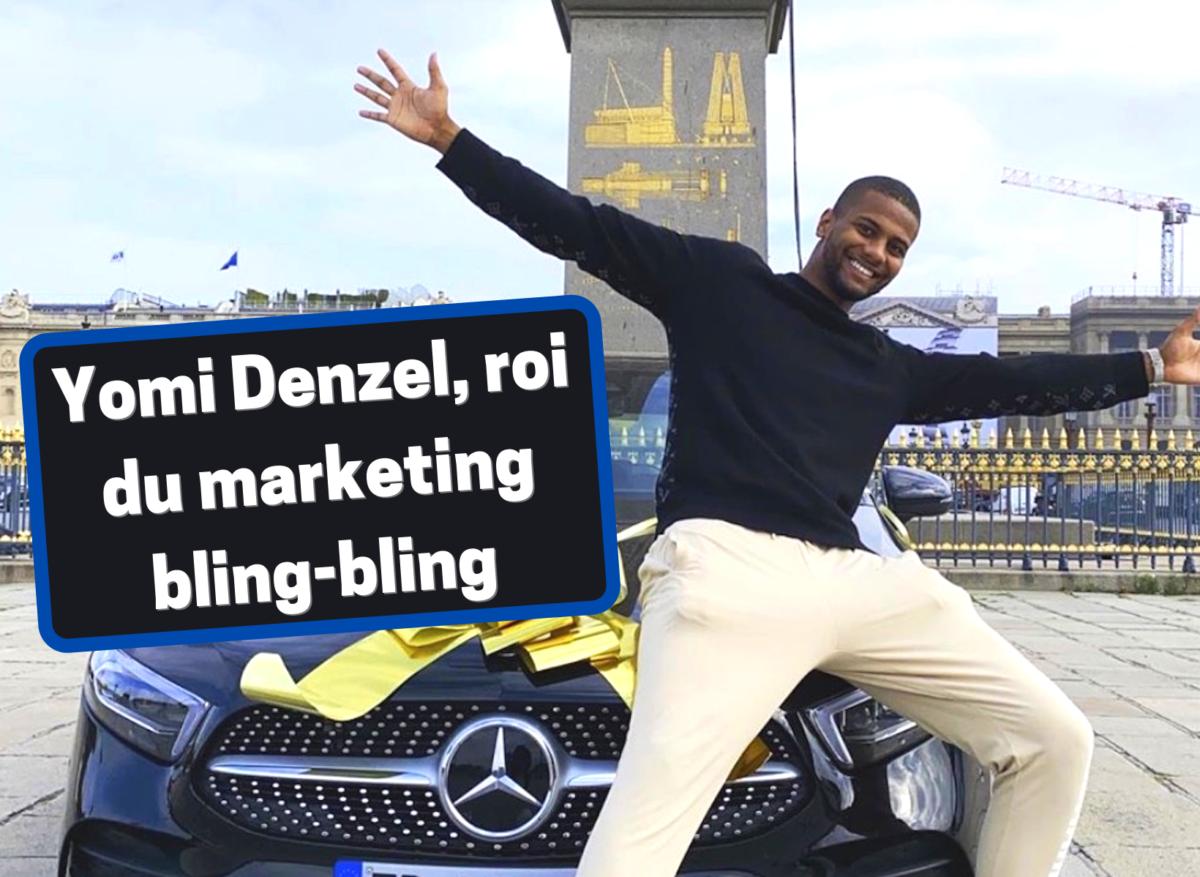 Yomi Denzel, roi incontesté du marketing bling-bling, et arnaqueur ?