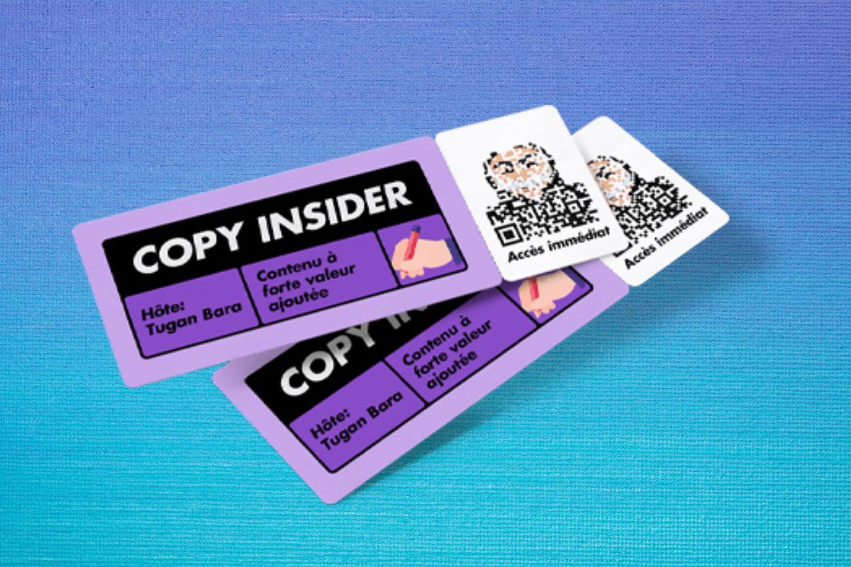 """""""Copy Insider"""" de Tugan Bara : Mon avis !"""
